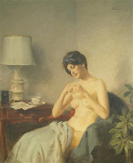 Frank S. Bensing American, 1893-1983 Morning Reverie