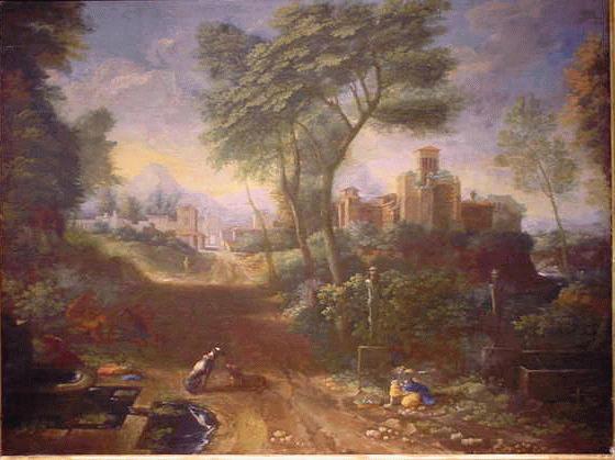 Thomas Blanchet French, 1614 - 1689 ITALIANATE LANDSCAPE