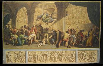 Luigi Ademollo Italian, 1764-1849 IN THE COLISEUM: PAIR