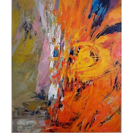 Seong Moy Chinese/American, b. 1921 Autumn Rhythm, 1967