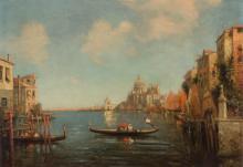 Nicholas Briganti Italian, 1861-1944 The Grand Canal, Venice