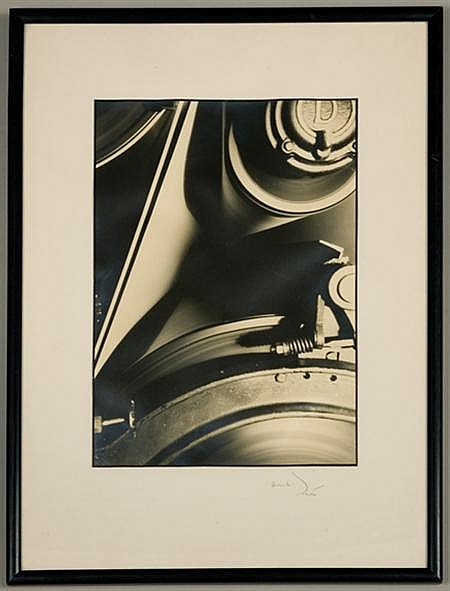 BOURKE-WHITE, MARGARET Machinery Abstraction Gelatin silver print,