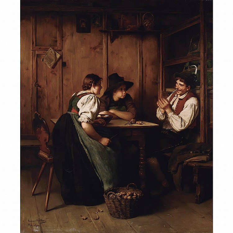 Emma (Edle von Seehof) Muller Austrian, 1859-1925 An Interesting Tale