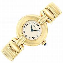 Gold Wristwatch, Cartier, Paris