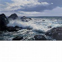 Peter Ellenshaw British, 1913-2007 Crashing Waves, 1979