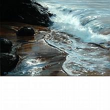 Peter Ellenshaw British, 1913-2007 Surf, 1964