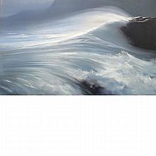 Peter Ellenshaw British, 1913-2007 Wave, 1964