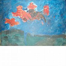 Robert Beauchamp American, 1923-1995 Figure in the Sky