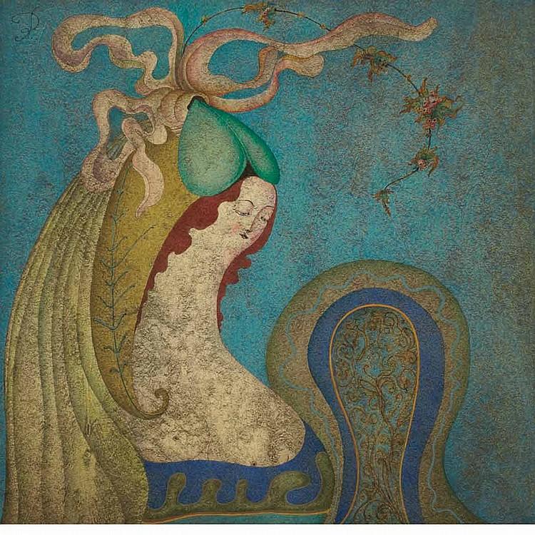 Rebecca Chemiakin  Russian, b. 1934 Figure
