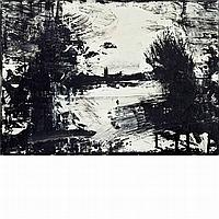John Virtue British, b. 1947 Landscape #387, 1997