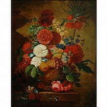 French School Early 20th Century Bouquet de Fleurs
