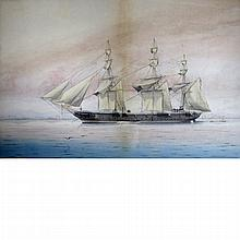 Mackenzie Thomson British, fl. 1870-1892 H.M.S. Encounter