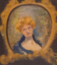 Louis Michel Eilshemius American, 1864-1941 Portrait of a Lady