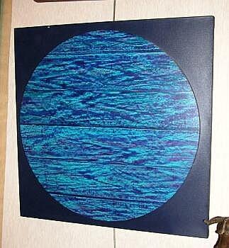 Herbert Aachs 20th Century BLUE CIRCLE