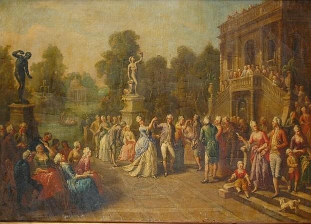 Francois Louis Joseph Watteau (Watteau de Lille) French, 1758-1823 Une Fete Champetre