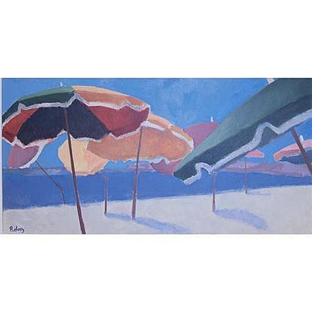 Zsuzsi Roboz Hungarian/British, b. 1939 Umbrellas