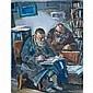 Benjamin Kopman Russian/American, 1887-1965 Scholars, Benjamin D Kopman, Click for value