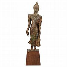Thai Bronze Figure of Buddha