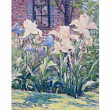 Peter Bela Mayer American, 1887-1993 Irises