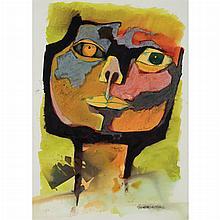 Oswaldo Guayasamín Ecuadorian, 1919-1999 Cabeza