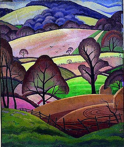 Ethelbert White British, 1891-1972 THE PATTERN OF WINTER