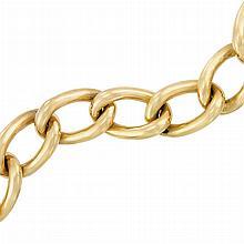 Gold Link Bracelet, Tiffany & Co.