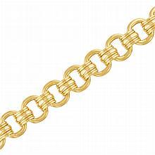 Gold Link Bracelet, by Marvin Schluger