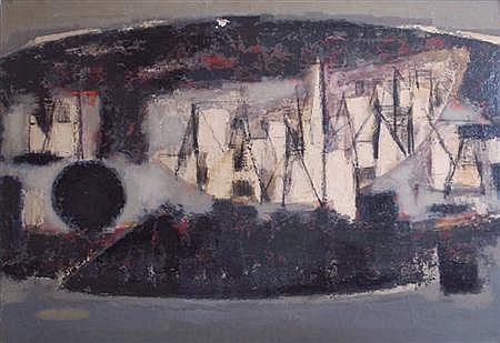 Jun Dobashi Japanese, 1910-1975 Untitled, 1956