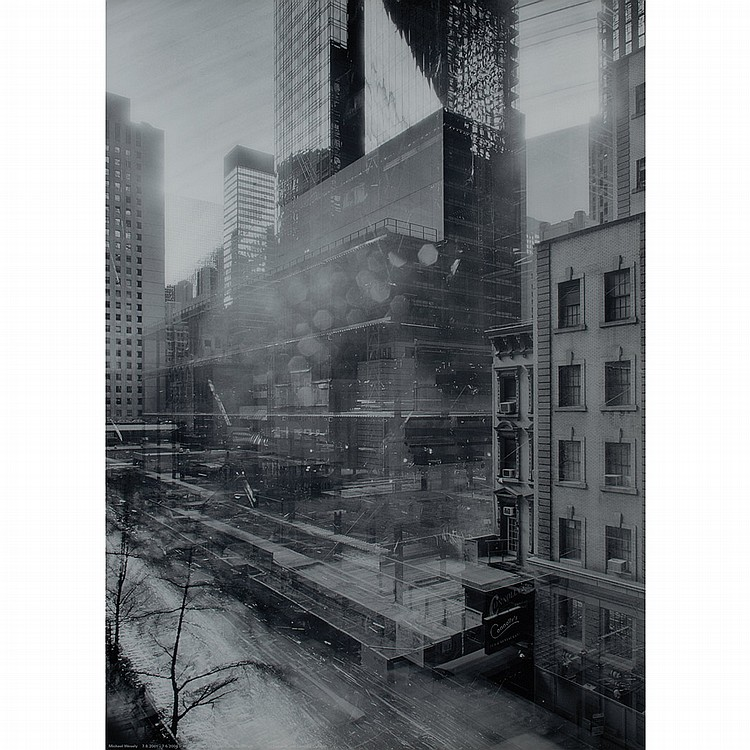 WESELY, MICHAEL (b. 1963) Open Shutter. The Museum of Modern Art, New York 7.8.2001-7.6.2004. Diasec bonded C-print mounted in steel...