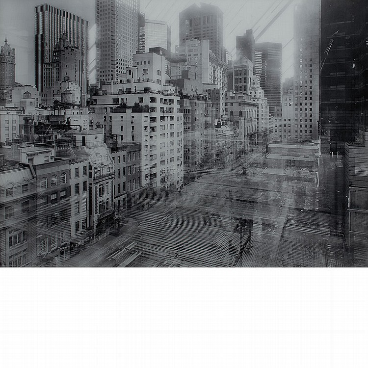 WESELY, MICHAEL (b. 1963) Open Shutter. The Museum of Modern Art, New York 9.8.2001-2.5.2003. Diasec bonded C-print mounted in steel...