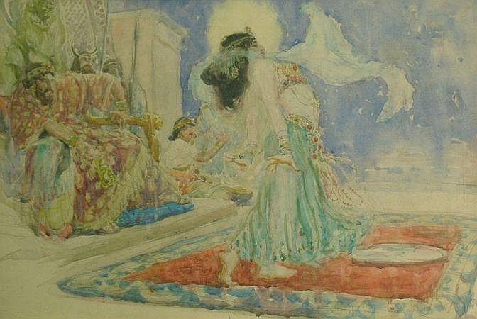 Charles Nicolas Sarka American, 1879-1960 DANCE OF SALOME