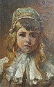 Henry Mosler American, 1841-1920 Portrait of Ida, 1882, Henry Mosler, Click for value