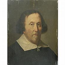 Circle of Jan Lievens Portrait of a Man in a White Collar