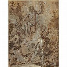 Circle of Sir Anthony Van Dyck The Resurrection