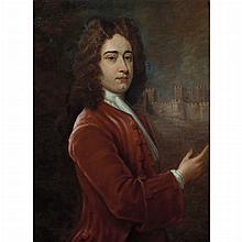 Attributed to Sir Godfrey Kneller Portrait of Ellis Cunliffe
