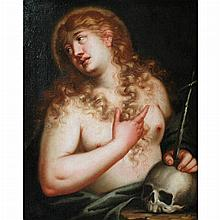 Attributed to Pietro Liberi Penitent Magdalene