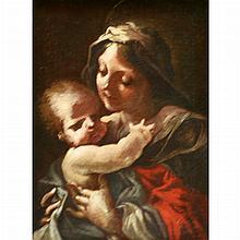Attributed to Pietro Faccini Madonna and Child