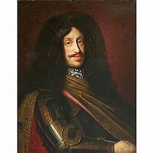 Attributed to Benjamin von Block Portrait of the Holy Roman Emperor Leopold I (1640-1705) in Armor