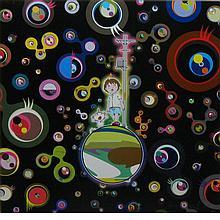 Takashi Murakami Japanese, b. 1962 Jellyfish Eyes, 2004/2012
