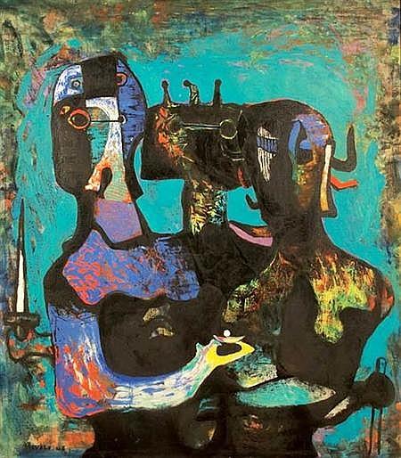 Felix Emmanuele Ruvolo American, 1912-1992 Offertory, 1946