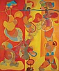 Luis Lopez-Loza Mexican, b. 1939 Circus, 1967, Luis Lopez Loza, Click for value