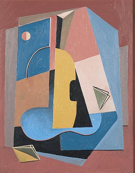 Albert Eugene Gallatin American, 1882-1952 Untitled, 1944