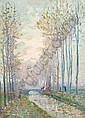 Elie Anatole Pavil Ukranian/French, 1873-1948 Canal de l'Ourcq, Elie Anatole Pavil, Click for value