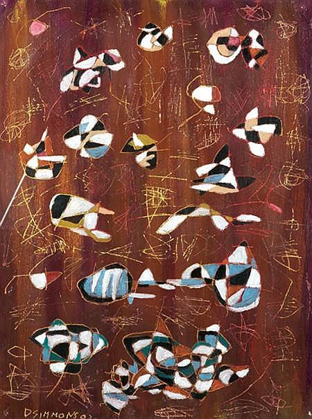 Danny Simmons American, b. 1954 Untitled, 2002