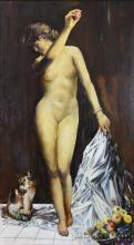 John R. Grabach American, 1886-1981 Eve and the Apple