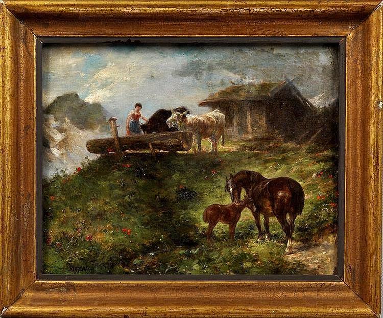 Eggena, Gustav. Geb. 1850 Marburg-1915, war tätig