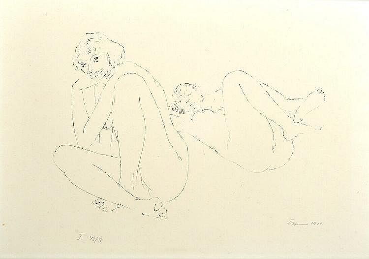 Cremer, Fritz. 1906 Arnsberg im Sauerland-1993