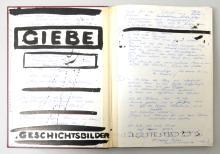 Hubertus Giebe Sketchbook 1992