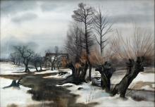 Winterlandschaft / Winter scenery