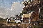Eugène Joseph VERBOECKHOVEN (Warneton 1798 – Schaarbeek 1881)